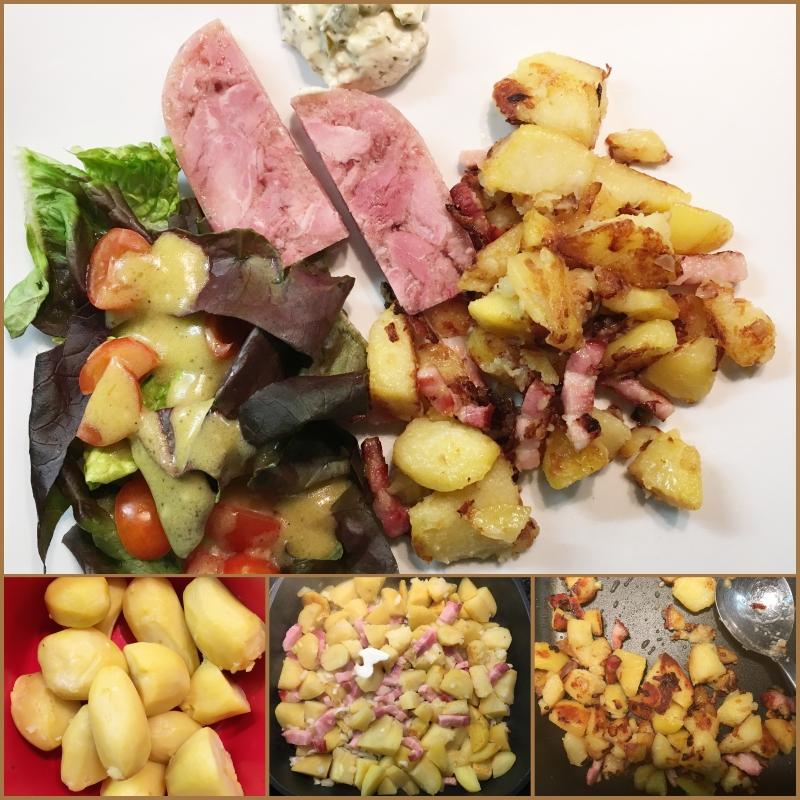 knusprige bratkartoffeln im ofen